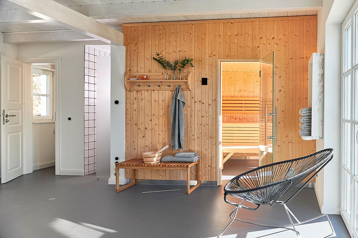 Appartements auf der Insel Rügen mit Sauna in der Villa Hygge